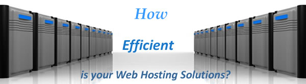 How efficient is your webhosting solutions?